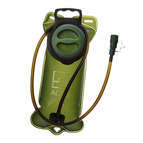 perfeclan Vejiga de Hidratación de 2 L, Depósito de Agua No Tóxico, Vejiga de Hidratación a Prueba de Fugas de Gran Apertura para Caminatas Al Aire Libre, Cicli