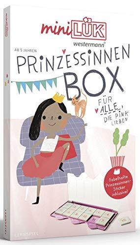 miniLÜK-Sets / miniLÜK-Set: Kasten + Übungsheft/e / Vorschule/1. Klasse - Mathematik, Deutsch: Prinz(essinn)en-Set (miniLÜK-Sets: Kasten + Übungsheft/e)