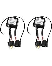 KIMISS 2PCS Aleación de polaridad invertida Convertidor de LED negativo Adaptador de arnés de interruptor negativo negativo Polaridad invertida para H4