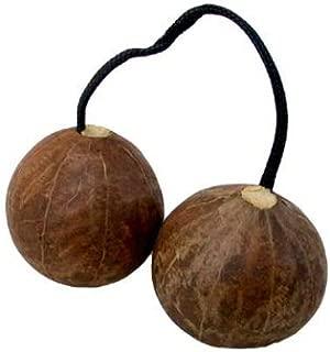 Aslatua Double Gourd Kashaka - African Shaker Rattle! (Approx 7