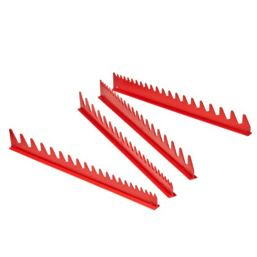 Ernst Manufacturing Wrench Rail Set, 40 Tool, Red