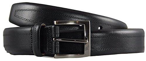 KIRKLAND SIGNATURE - Italian Leather - Full-Grain Leather Belt (34)