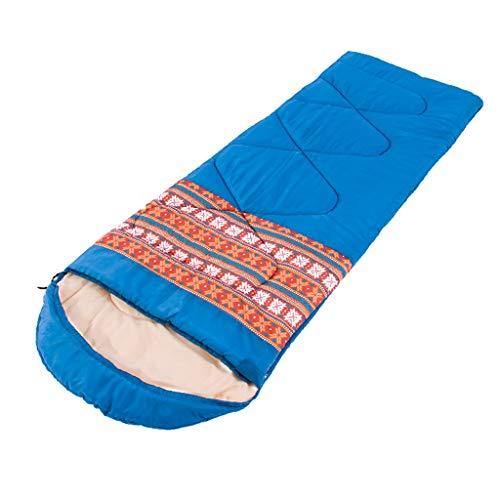 CATRP-Sac de couchage avec Protection Contre Le Froid pour Adulte, Portable, Épaississement, Élargissement, Camping, Automne Et Hiver, Folk-Custom (2 Couleurs, 4 Genres)