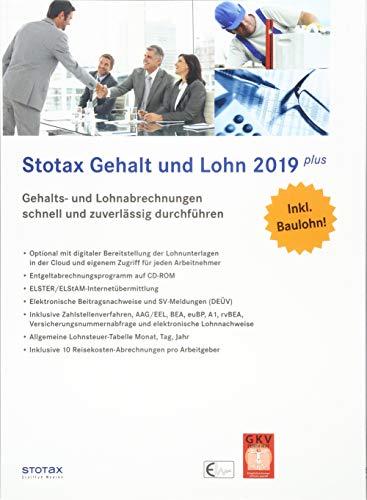 Stotax Gehalt und Lohn Plus 2019