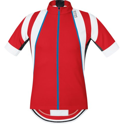 Gore Bike Wear Oxygen maillot pour homme M Rojo / blanco (red / white)