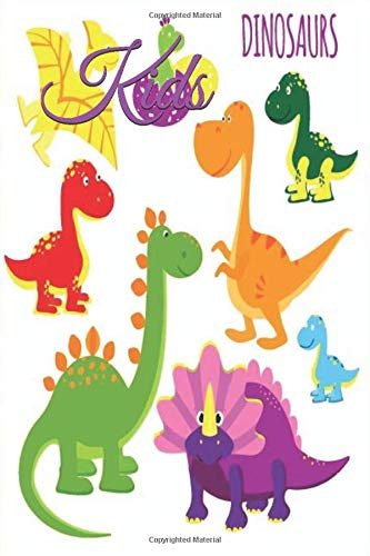 Children dinosaur lined notebook/journal