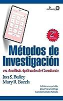 Métodos de investigación en análisis aplicado de conducta