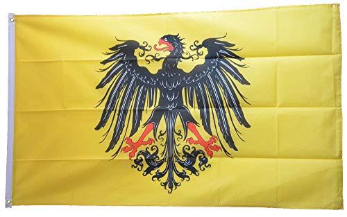 Flaggenfritze® Flagge/Fahne Heiliges Römisches Reich Reichssturmfahne - 90 x 150 cm