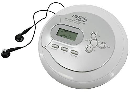 FineSound FS2 CD-MP3 Player mit Anti-Schock und Hörbuchfunktion (Resumefunktion)