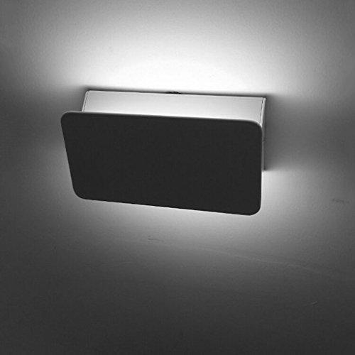 Wandlamp met led-wandlampen, 6 W, leesfunctie, verstelbaar naar boven en beneden, plafond, achterlicht, woonkamer, ingang, tv-kast
