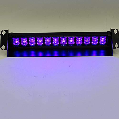 12 W LED Tableau de bord clignotant lampe d'urgence stroboscopique d'avertissement pour véhicules de police 12 V Ventouse montée