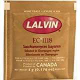 Lalvin Sparkling Wine Yeast EC-1118 Sachet 5g - Ideal for making Cider and Champagne style wines