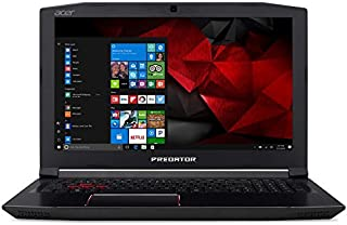 "Notebook Gamer Acer Predator Helios 300, G3-572-75L9, Intel Core i7 7700HQ, 16GB RAM, HD 2TB 32, 32, NVIDIA GeForce GTX 1060 com 6 GB, Tela 15.6"", Windows 10"