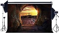 HD イエスの誕生の背景7X5FTビニールキリスト降誕の物語の背景空の墓3つの十字架キリストの写真撮影の背景クリスマスマネージャー休暇聖書学校写真スタジオ小道具EB223
