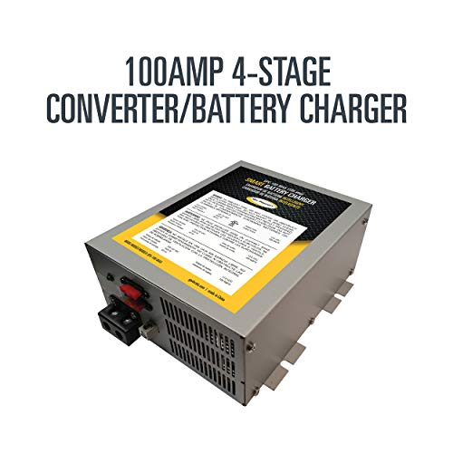 Check Out This Go Power! GPC-100-MAX 100 Amp 4-Stage Converter/Battery Charger