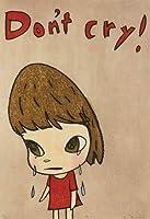 油絵 ポスター アートパネル シトン奈良美智 装飾画 アートフレーム 人気 アニメ インテリア モダン おしゃれ 寝室の装飾 壁飾り 飾り絵 新築飾り 贈り物30x40cm (フレーム付き)