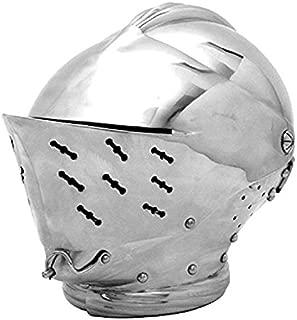 Armor - Tudor Close Helmet Official Replica Armour Metallic One Size
