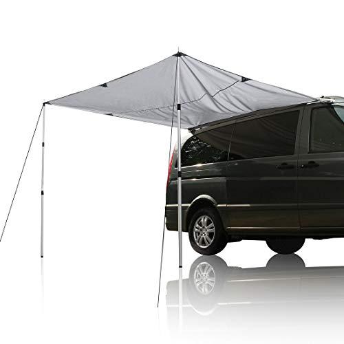 your GEAR Motorhome Tarp 260 x 240 Sonnensegel inkl. Aufstellstangen für Camping Bus Van Auto UV 50+ Schutz wasserdicht 5000mm