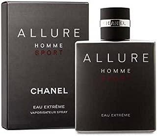 Allure Homme Sport Eau Extreme by C h a n e l 3.4 oz Eau De Toilette Spray for Men