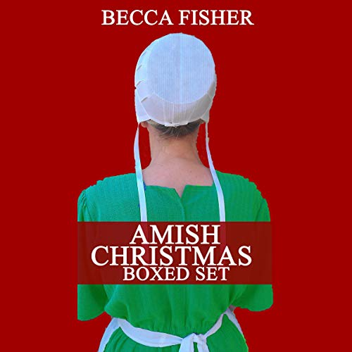 Amish Christmas Boxed Set audiobook cover art
