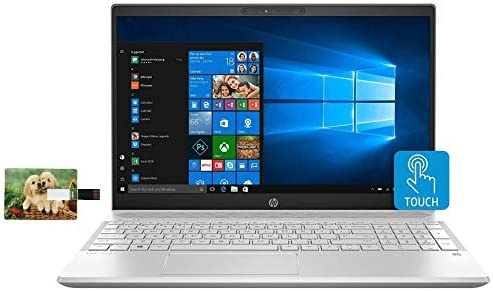 2021 HP Pavilion 15 Laptop Computer 10th Gen Intel Quad Core i5 1035G1 15 6 FHD IPS Touchscreen product image