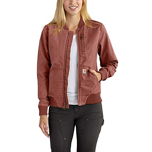 Carhartt Women's Crawford Bomber Jacket, Auburn, Small