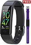 JAZIPO Fitness Armband mit Blutdruckmessung Pulsmesser, Fitness Tracker Uhr Wasserdicht IP68 Schrittzähler Uhr