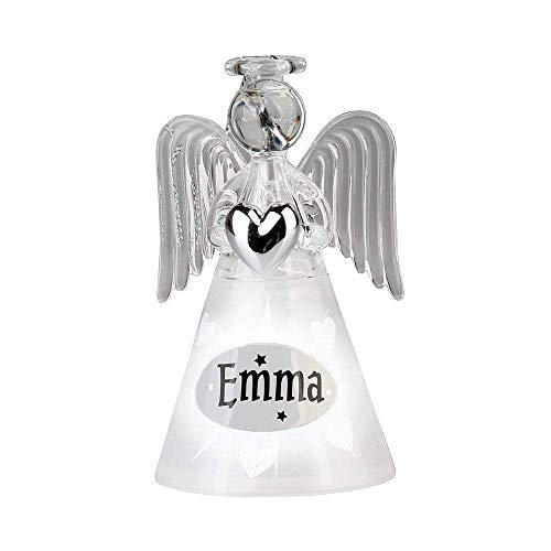 Historia & ~ Heraldry ángeles y muñeco de Nieve luz para Colgar decoración de Navidad, Emma