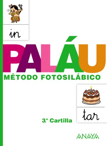 Método fotosilábico: 3.ª Cartilla. - 9788467832327: Metodo fotosilabico 3 Cartilla (Palau)