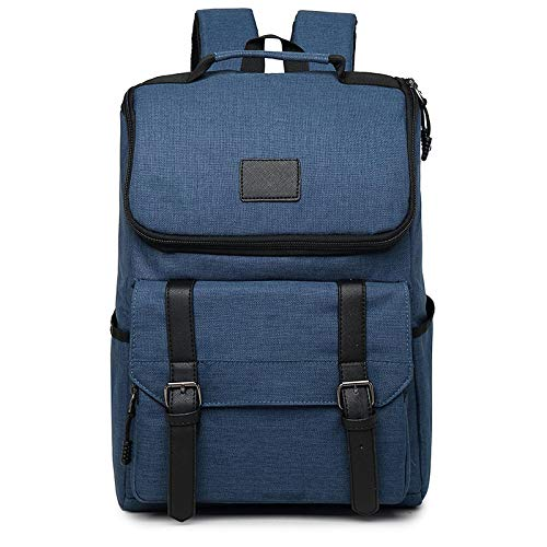 Yuan Ou Mochila infantil Mochilas de lona Vintage para hombre y mujer, mochilas escolares para adolescentes, mochila grande para ordenador portátil, mochila para hombre de moda 13