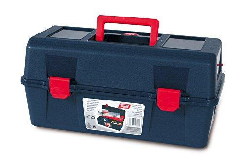 Tayg Caja herramientas plástico n. 25, azul, 400 X 206 X 188 mm