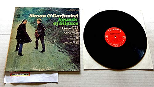 Simon & Garfunkel SOUNDS OF SILENCE - Columbia Records 1966 - USED Vinyl LP Record - 1966 STEREO Pressing CS 9269 With Recalled TIGER BEAT back cover - I Am A Rock - Richard Cory - Blessed - Anji
