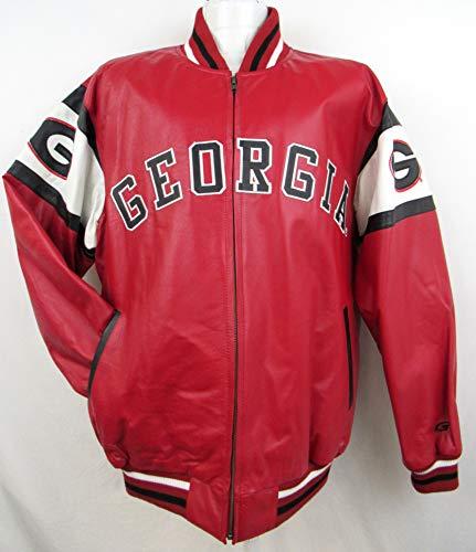 georgia bulldogs leather jacket - 1