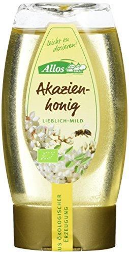 Allos Akazienhonig im Spender, 3er Pack (3 x 250 g)