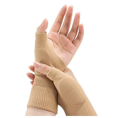 Soporte médico para el pulgar, 1 par de estabilizador médico ajustable para aliviar la artritis lesiones del pulgar