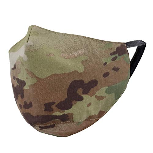 M MCGUIRE GEAR Cloth Face Cover w/Adj. Nose Bridge, Cotton Blend, Various Patterns and Colors (OCP/Scorpion, 1)