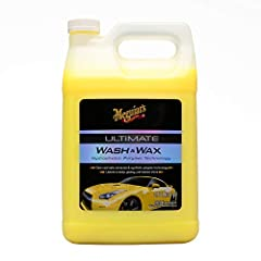 CLEAR COAT SAFE: Carnauba wax and synthetic polymer technology gently cleans the paint while leaving behind additional wax protection DEEP SHINE: Leaves a deep, glossy, just-waxed shine and gently cleans in one easy step AMAZING SUDS: Incredible suds...