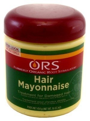 Ors Hair Mayonnaise Treatment 16oz Jar by Organic Root (ORS)