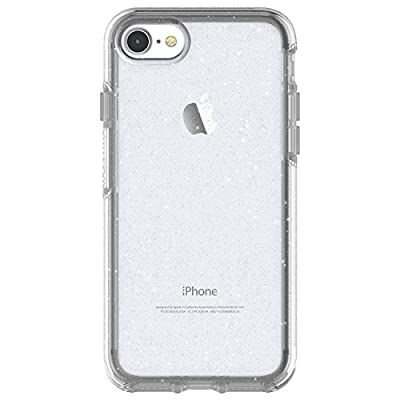OtterBox SYMMETRY CLEAR SERIES Case for iPhone SE (2nd Gen)/8/7(NOT Plus) - Retail Packaging - STARDUST (SILVER FLAKE/CLEAR)