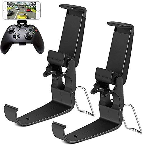 Aliver Xbox One Controller Halter Handy-Klemmclip für Xbox One/S/X/SteelSeries Nimbus/Stratus XL/Steam-Controller