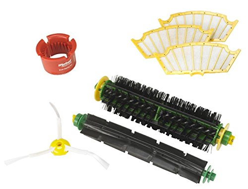 FirstDecor Roomba 500 Series Replenishment Kit For Red and Green Cleaning Heads