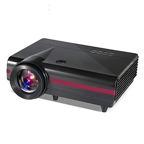 Proyector LCD Smart Projector 1280X800P Compatible con Full HD 5000: 1 Relación De Contraste Proyector De Cine En Casa Proyector De Vídeo De Cine En Casa (Color: Color De Foto, Tamaño: Talla Única)