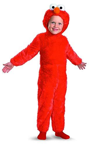 Sesame Street Elmo Comfy Fur Boys Costume, Large/4-6