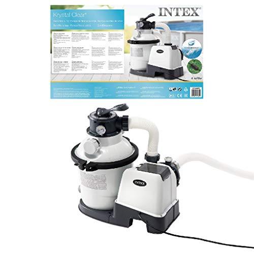 Intex 1200 GPH Sand Filter Pump W/RCD (220-240 Volt)