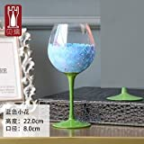 Colored Drawing Flute Glass Cup Crystal Cup Champagne Glasses Wine For Vodka Cups Wedding Hotel Party Drinkware
