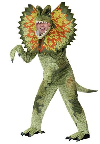 Adult Dilophosaurus Dinosaur Costume