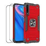 通用 Coque Compatible avec Xiaomi Mi 9 Case Xiaomi Mi 9 Housse avec Verre Trempé,Antichoc...