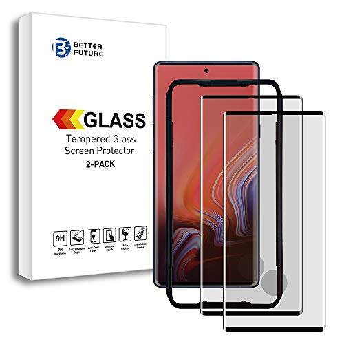 Better Future Glass Note 10 Tempered Glass[Solution for Ultrasonic Fingerprint]3D Note 10 Screen Protector for Galaxy Note 10