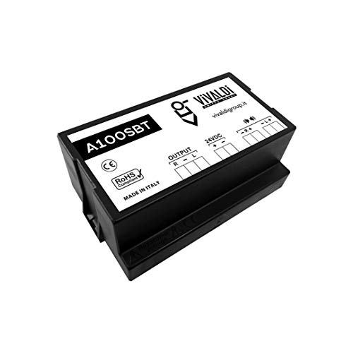 Vivaldi Giove A100SBT Amplificatore di potenza 50+50W RMS, stereo, con modulo Bluetooth integrato