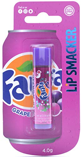 Markwins Lip Smaker - Fanta Lippenpflegestift mit originalem Fanta Grape Geschmack